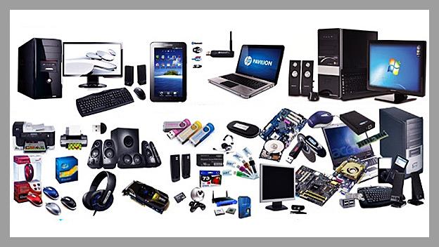 equipos electrónicos modernos