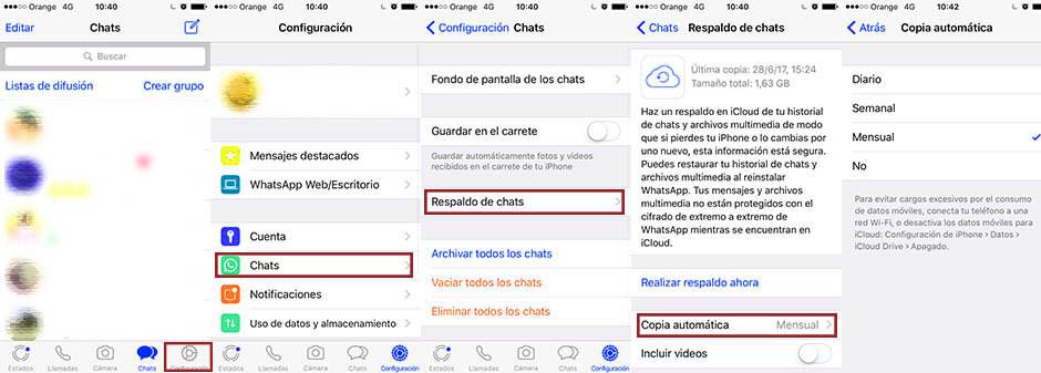 recuperar conversaciones en whatsapp en ios