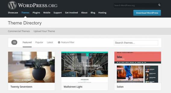 mejores plantillas WordPress para un diseño web efectivo