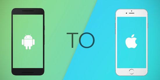 transferir datos de iphone a android