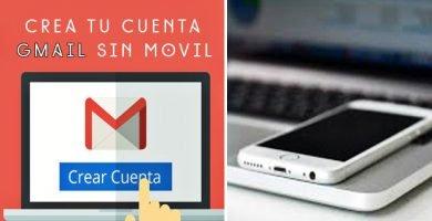 como abrir una cuenta en gmail sin telefono celular