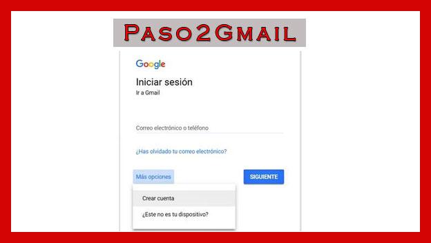 crear gmail sin numero telefonico