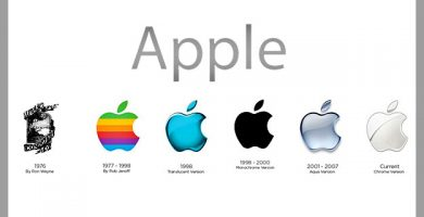 historia del logotipo de apple