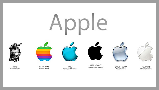 historia del logotipo de apple