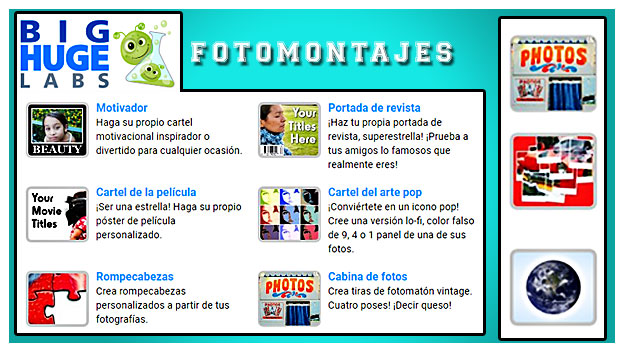 pagina para hacer fotomontajes online