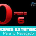 extensiones para opera