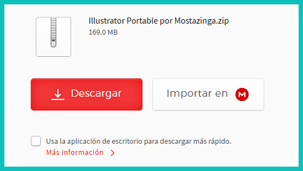 descargar adobe illustrator portable por mega