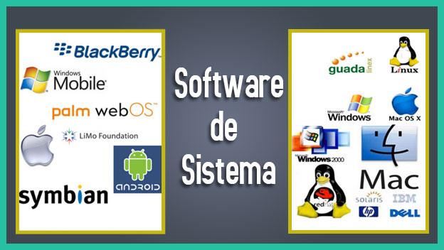 tipos de software de sistema