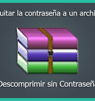 como quitar la contraseña a un archivo rar