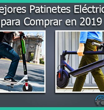 mejores patinetes electricos para comprar en 2019