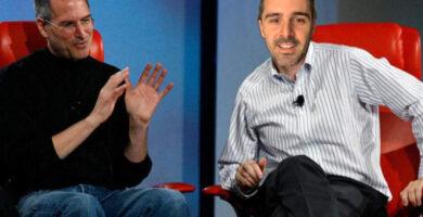 Steve Jobs y nicolas garcia boccia